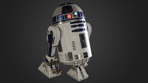 r2-d2 star wars 3D model