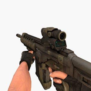 3D wep assaultrifle model