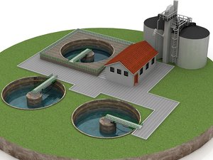 water plant purification model