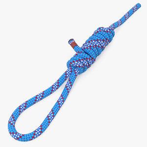 3D bimini twist knot