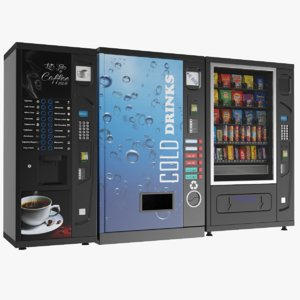 3D vending machines model