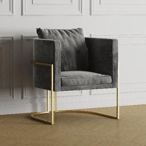 3D julius chair