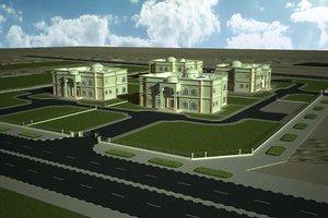 3D model villa 4