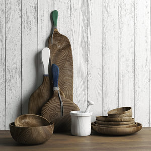 3D kitchen decor model