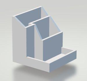 desk organizer model