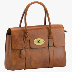mulberry kinley handbag 3D model