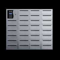 Electronic mailboxes with smart system