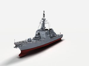 3D class destroyers kongo model