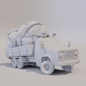3D cargo model