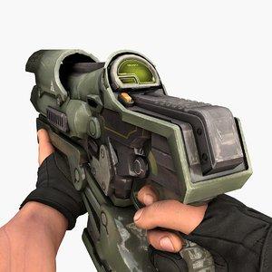 3D burst gun