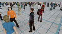 Low Poly Animated People Pack - 200 Pieces Low-poly Animated Crowd
