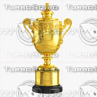 Wimbledon Trophy 3D Model