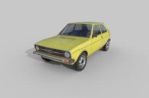 3D car: audi 50 type
