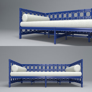 3D regeant daybed