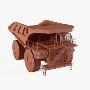 off-highway truck 3D model