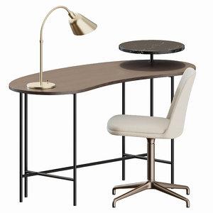 3D rely palette desk