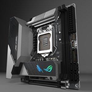 3D motherboard asus rog strix