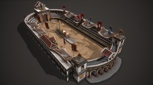 ancient circus maximus model