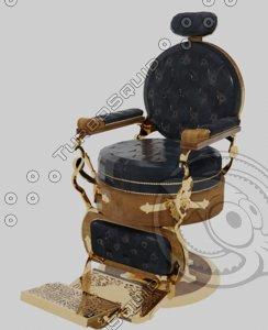 barbershopchair 3D model