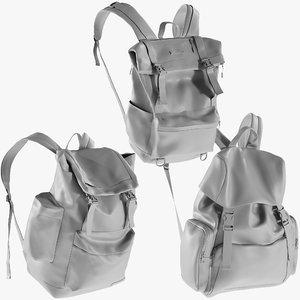 mesh backpack 12 - model