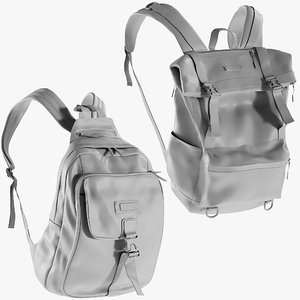 3D mesh backpack 6 -