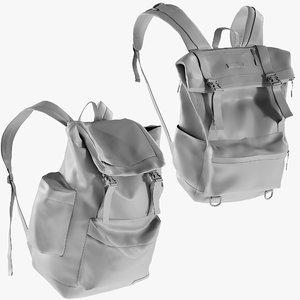 mesh backpack 3 - 3D model
