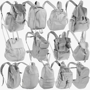mesh backpack 2 - 3D model