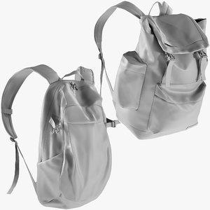 mesh backpack 5 - 3D model