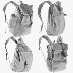 mesh backpack 7 - 3D model