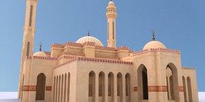 3D al fateh mosque model
