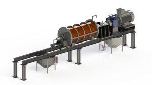 3D model isa-mill machine