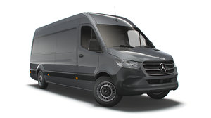 3D mercedes benz sprinter l3h2 model