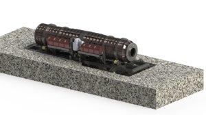 rotary furnace model