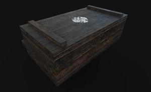 wood box 3D