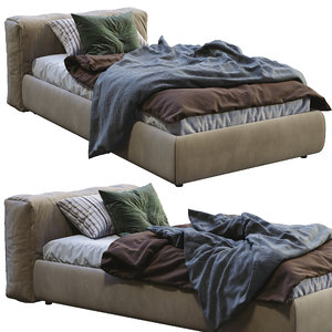 3D cappellini single bed superoblong