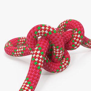 alpine butterfly loop rope 3D