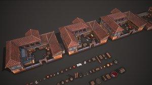 3D ancient farm pack