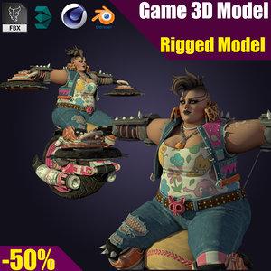 body 3D model