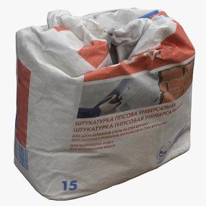 bag plaster used model