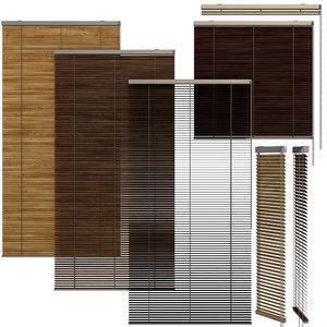 3D shutter windows doors model