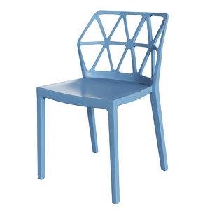 connubia cb1056 alchemia chair 3D model