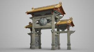3D archways style taoism