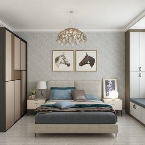 3D bedroom design 360-degree