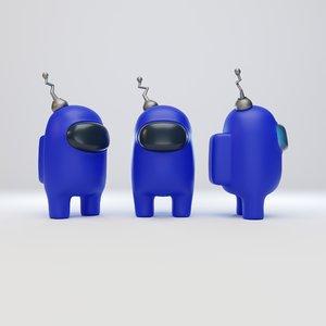character antenna 3D