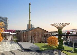3D urban landscape planning refit model