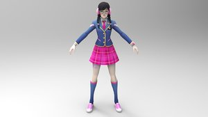character game 3D model