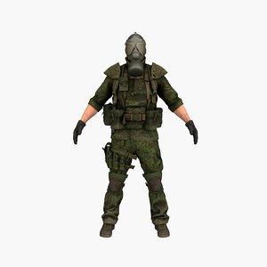 terrorist v2 3D model
