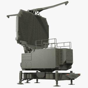 3D big bird 64n6 radar