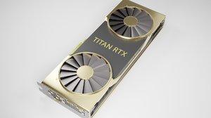 nvidia titan rtx graphics 3D