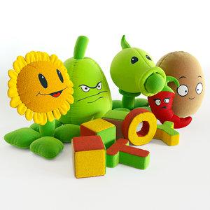 children toys 3D model